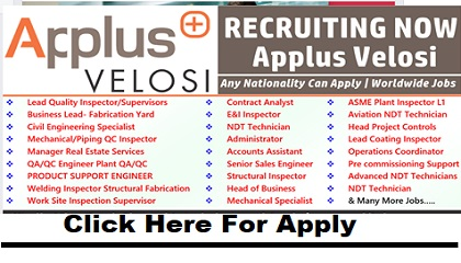 Photo of Job Vacancies at Applus Velosi | Multiple Location