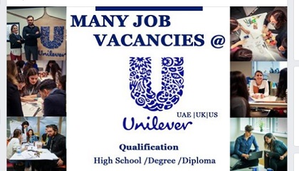 Photo of MANY JOB VACANCIES @ UNILEVER