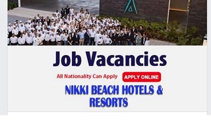 Photo of NEW JOB VACANCIES @ NIKKI BEACH HOTELS & RESORTS