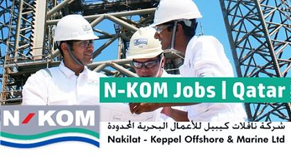 Photo of Nakilat-Keppel Offshore & Marine (N-KOM) Job Vacancies | Qatar