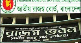 National Board of Revenue (NBR) Job Circular 2019