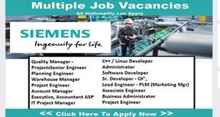 Staff Recruitment @ SIEMENS