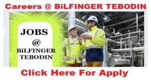 careers @ BiLFINGER TEBODIN