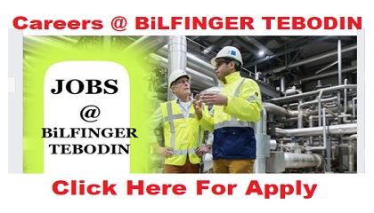 Photo of Hiring Staff Recruitment @ BiLFINGER TEBODIN