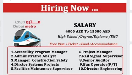 Photo of Rail / Metro-Department-Direct submit Your Resume