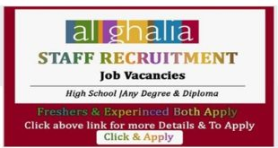 AL GHALIA JOB VACANCIES