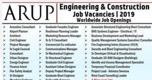 Arup Group Job Vacancies