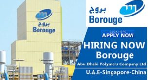 Borouge Job Vacancies 2019
