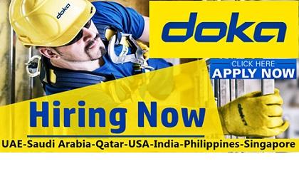 Photo of Doka Jobs & Careers | UAE-Saudi Arabia-Qatar-USA-India-Singapore-Australia