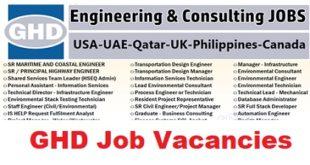 GHD Job Vacancies