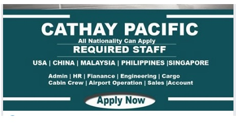 Photo of HIRING CATHAY PACIFIC CAREERS