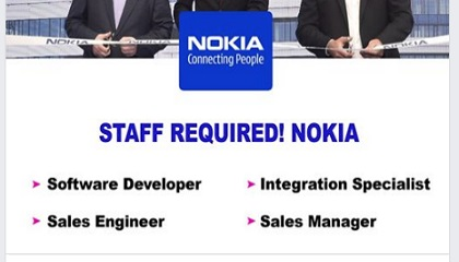 Photo of HIRING STAFF @ NOKIA