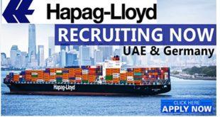 Hapag-Lloyd Job Vacancies 2019