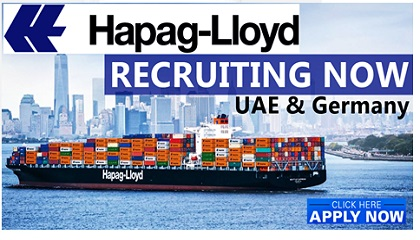 Photo of Hapag-Lloyd Job Vacancies 2019 | UAE-Germany