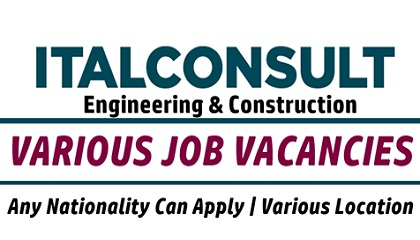 Photo of ITALCONSULT Jobs | Saudi Arabia-Kuwait-Italy-Algeria-UAE-Qatar