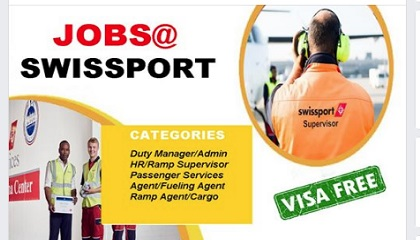 Photo of JOB OPENINGS AT SWISSPORT!! SUBMIT CV NOW!! JOB OPENINGS AT SWISSPORT!! SUBMIT CV NOW!! JOB OPENINGS AT SWISSPORT SUBMIT CV NOW