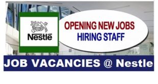 JOB VACANCIES @ Nestle