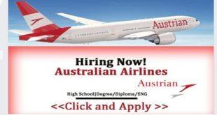 JOB VACANCIES @Australian Airlines