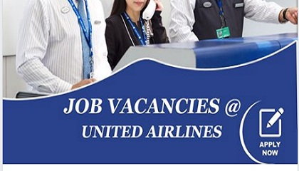 Photo of JOB VACANCIES AT UNITED AIRLINES