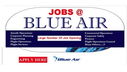 Photo of JOB VACANCIES IN BLUE AIRWAYS