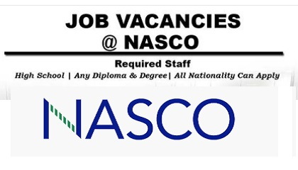 Photo of JOBS VACANCIES AT NASCO