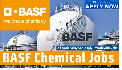 Photo of Job Vacancies at BASF Chemical 2019 | Germany-USA-Malaysia-Singapore-UK-UAE-India