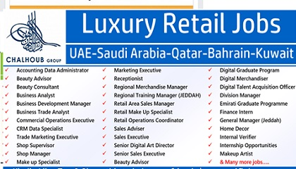Photo of Job Vacancies at Chalhoub Group – UAE-Saudi Arabia-Qatar-Bahrain-Kuwait