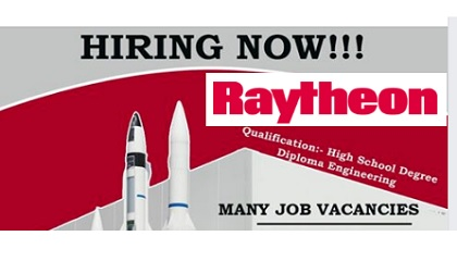 Photo of LATEST JOB VACANCIES @ RAYTHEON