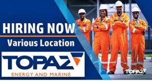 Latest Job Vacancies at Topaz Energy and Marine