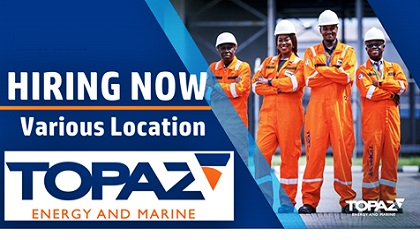 Photo of Job Vacancies at Topaz Energy and Marine | UAE-Azerbaijan-Kazakhstan-Saudi Arabia
