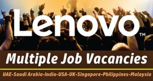 Lenovo Careers & Jobs | UAE-KSA-Singapore-Philippines-Malaysia-USA-UK-India