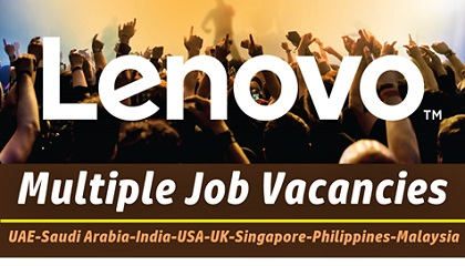 Photo of Lenovo Careers & Jobs | UAE-KSA-Singapore-Philippines-Malaysia-USA-UK-India