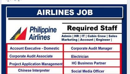 Photo of Philippine Airlines Careers