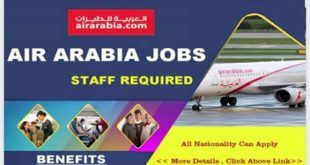 Career Page:Recruiting Now! AIR ARABIA