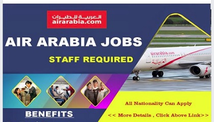 Photo of Career Page:Recruiting Now! AIR ARABIA