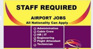 SINGAPORE CHANGI AIRPORT JOBS 2019