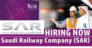 Saudi Railway Company (SAR) Hiring Now