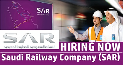 Photo of Saudi Railway Company (SAR) Hiring Now | Saudi Arabia