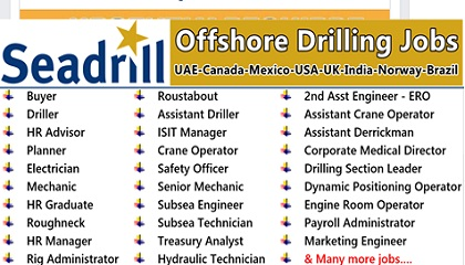 Photo of Seadrill Careers | Offshore & Onshore Jobs | UAE-Canada-Mexico-USA-UK-India-Norway