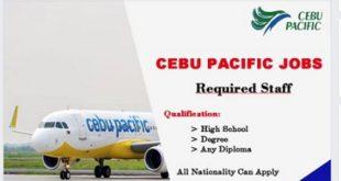 Staff recruitment-Cebu Pacific Careers