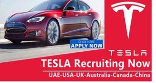 Tesla Jobs Vacancies 2019