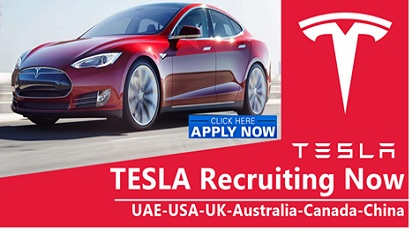 Photo of Tesla Jobs Vacancies 2019 | UAE-USA-UK-Australia-Canada-Malaysia Tesla Jobs Vacancies 2019 | UAE-USA-UK-Australia-Canada-Malaysia Tesla Jobs Vacancies 2019