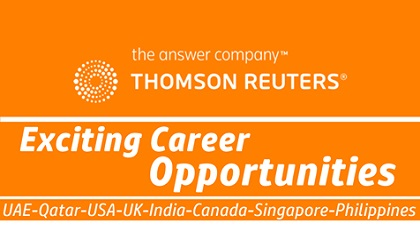 Photo of Thomson Reuters Careers & Jobs | UAE-Malaysia-USA-UK-India-Philippines-Singapore