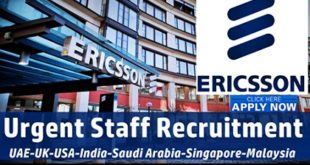 Multiple Job Openings at Ericsson