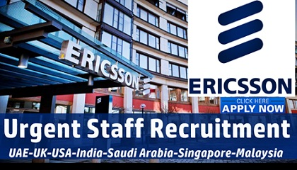 Photo of 100+ Jobs Openings at Ericsson | UAE-USA-KSA-Singapore-India-UK-Canada