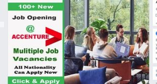 New Job Vacancies @ ACCENTURE