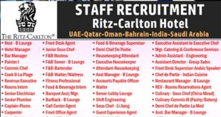 The Ritz-Carlton Hotel Luxury Hotels Jobs