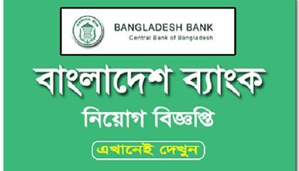 Photo of Bangladesh Bank Job Circular 2021