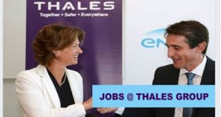DIRECT STAFF RECRUITMENT @ THALES GROUP