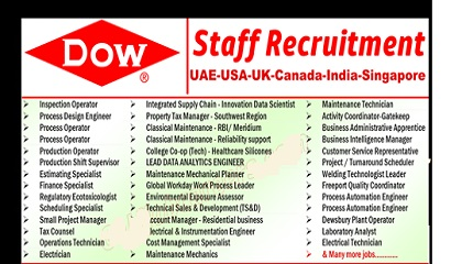 Photo of Dow Chemical Company Careers | UAE-USA-UK-Canada-India-Singapore